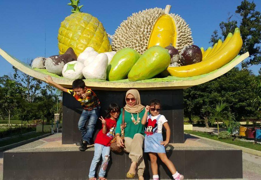 foto taman buah lubuk pakam sumut