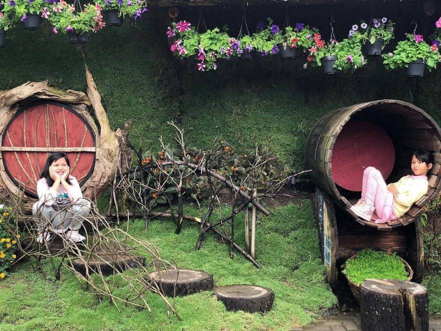 gambar farmhouse lembang bandung