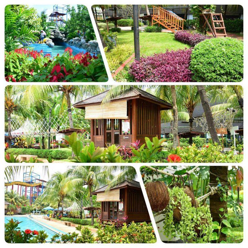 pemandangan wonderland adventure waterpark karawang