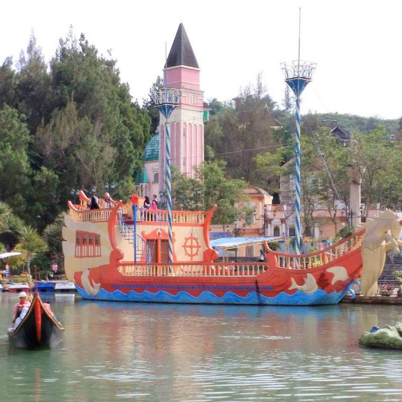 Harga Tiket Masuk Kota Bunga Cianjur 2019 Little Venice